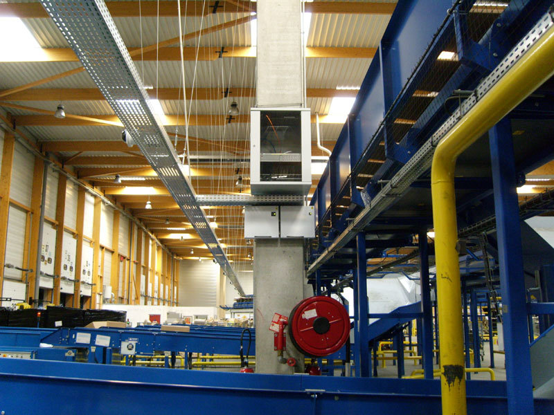 sécurité entrepôt usine