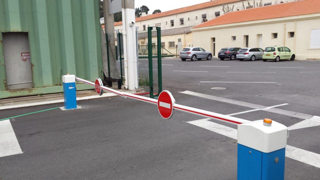 barrière levante sécurisé automatique Toulon, Monaco, Paris, Nice, Alpes Maritimes, Var