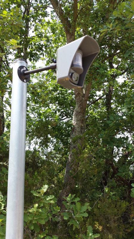 Détecteur extérieur alarme intrusion vidéosurveillance