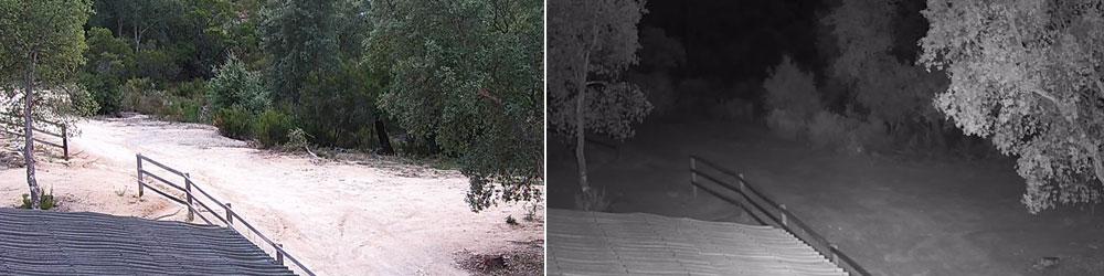 vidéosurveillance caméra infrarouge avigilon caméra de nuit