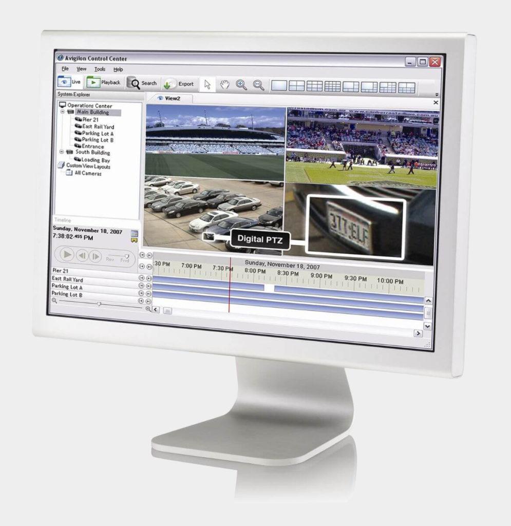 Moniteur de vidéosurveillance, retour du rendu des caméras, supervision vendu et installé par ADS Sécurité