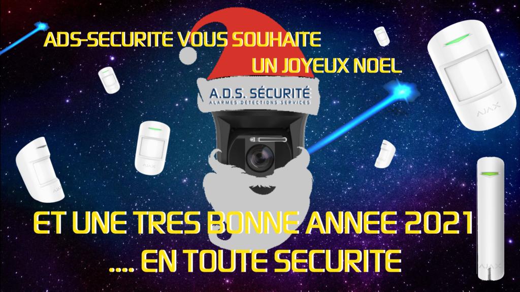 meilleurs vœux 2021 ads securite installateur vidéosurveillance alarme intrusion