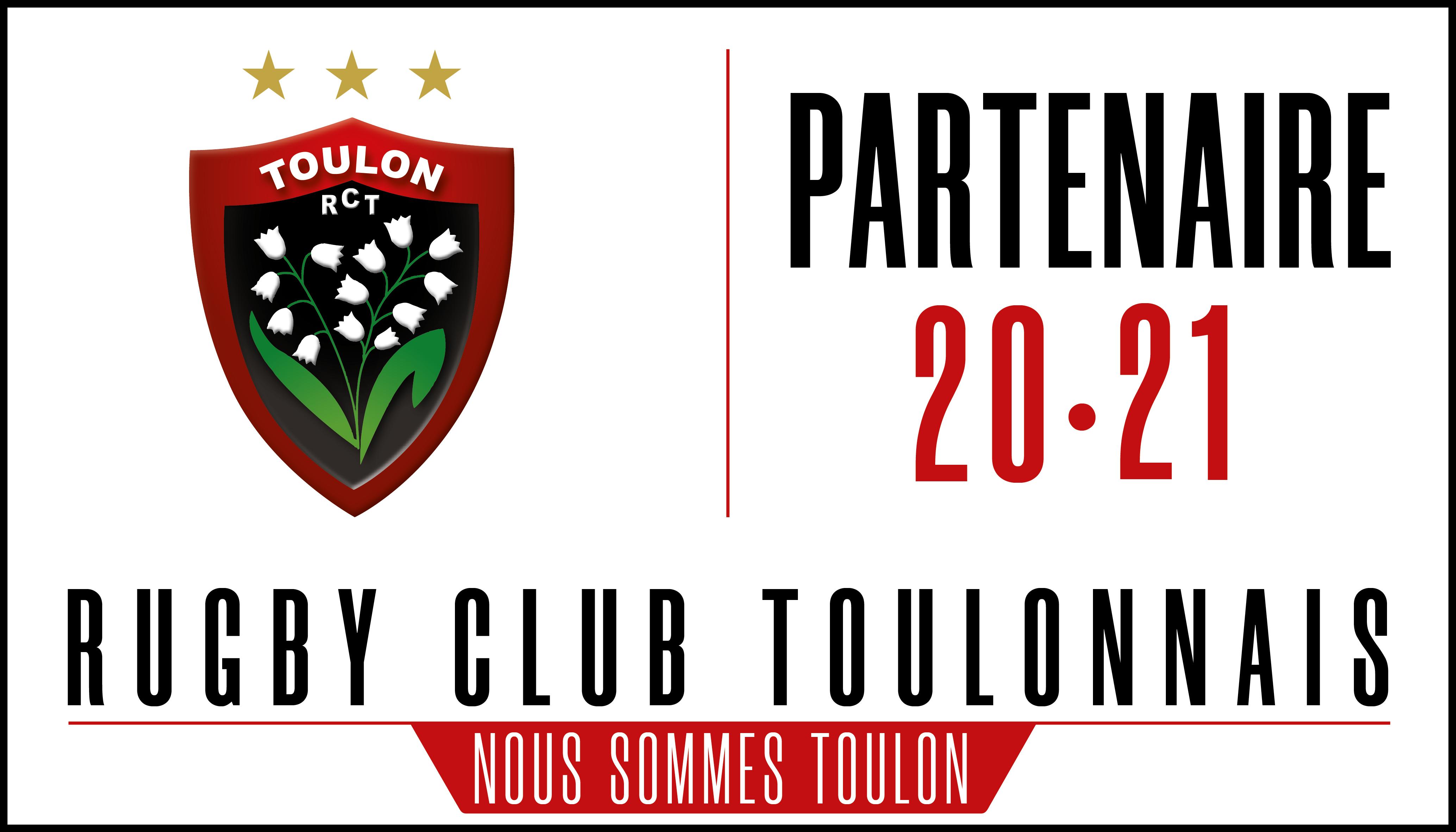L'un des partenaire d'ADS Sécurité, le Rugby Club Toulonnais